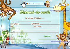 Diploma de merit nepersonalizata gradinita Judo, Activities For Kids, Clip Art, Map, Education, Model, Crafts, 1 Decembrie, Dative Case