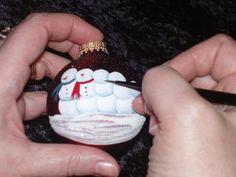 Handpainting an Ornament