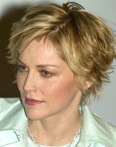 Short Hair Styles For Older Women   Hairstyles: Short Layered Hairstyles Short curly hairstyles Short ...