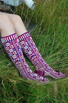 Ravelry: Durmstrang socks pattern by Ann Kingstone