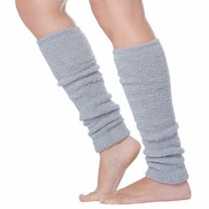Luxury Cashmere Feel Tagless Knee-High Stretch Leg Warmers ( Choose from 12 Colors ) $11.99