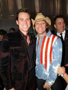 """Jon Bon Jovi and Jim Carrey (one of my favourite actors!) at """"The Concert For New York City"""",Madison Square Garden,October 20,2001!"""