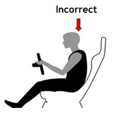 How to set the driving position for optimum comfort seating position for drivingand safety