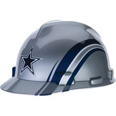 Dallas Cowboys Hard Hat - NFL Licensed Safety Helmet, If your gonna work hard might as well America's Team!