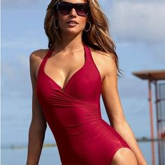 2013free shipping high waist swimsuit swimwear women one piece swimsuits for women sexy one piece swim suits bathing suits
