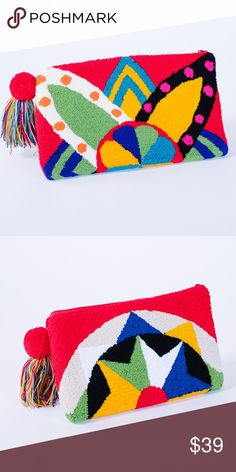 handmade clutch Every special woman deserves a unique statement piece! We are in love 😍 with our gorgeous red 💯% handmade clutches! Punch Punch, Handmade Clutch, Textiles, Home Room Design, Punch Needle, Rug Hooking, Embroidery Art, Textile Art, Valentines Day