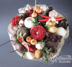 Gallery.ru / Фото #81 - Букеты из овощей и фруктов - nekto1
