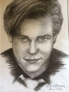 Muj portrét od skvělého umělce pana Vojtěcha Brady. Jeste jednou moc diky !