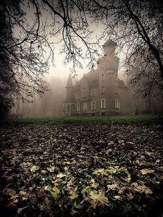 Poland,Mystical Castle, Lower Silesia, Poland