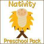 Preschool packs for a variety of topics. This would be fun to send home with the kids in my Sunday School class - provide families with resources to use at home with their children.