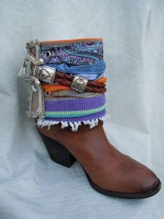 Jewely   Boho Accents, Ankle Art, Boho Boot Accents -  www.bohoaccents.com