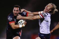Brendan Elliot Photos: NRL Rd 14 - Warriors v Roosters