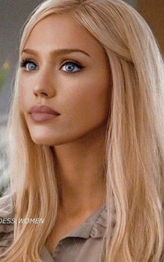 Jessica Alba Fantastic Four, Gorgeous Eyes, Beautiful Women, Blonde Beauty, Hair Beauty, Summer Makeup Looks, Beautiful Blonde Girl, Foto Pose, Great Hair