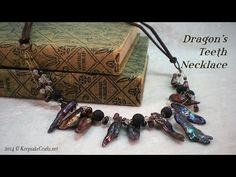 M Dragon's Teeth Necklace Tutorial - YouTube