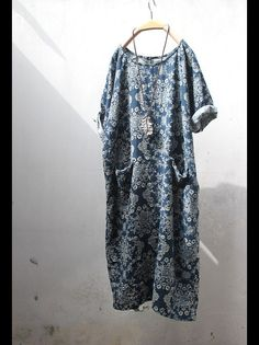 NOTE: The only one dress, This dress never second piece, because discontinued this Flower pattern fabric. Full of oriental ethnic style classical, very elegant, fabric soft, comfortable, unique,...