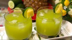 Cucumber Pineapple Lemonade - Summer Cooler