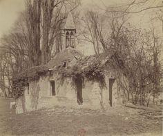 1901 - Arcueil-Cachan : Parc de Mme de Provigny. Photographe : Atget