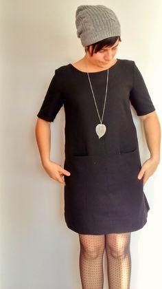 ajstoffenspulletjes: Grace jurk: my little black dress