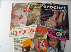 Crochet With Heart Magazines     Crochet World Magazines