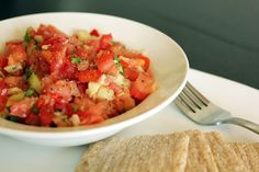 A simple salsa recipe that you can use for snacks or as an appetizer during your Candida diet. This recipe uses cilantro, lime, salt and garlic for flavor.