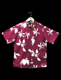 Vintage Hawaiian Shirts 1930's - 1950's by Sun Surf. See More. Buttondown Aloha Shirt Bordeaux Pua Miulana