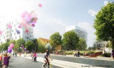 outside< (2015): Gestaltung der zentralen ÖV-Achse, Graz (AT), via competitionline.com