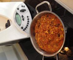 Veganes Linsen Chili sin carne (low carb) von family99 auf www.rezeptwelt.de, der Thermomix ® Community