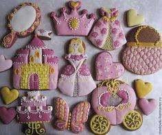 Кулинарные сувениры ручной работы. Ярмарка Мастеров - ручная работа. Купить Пряничный набор для Маленькой Принцессы. Handmade. Подарочный набор
