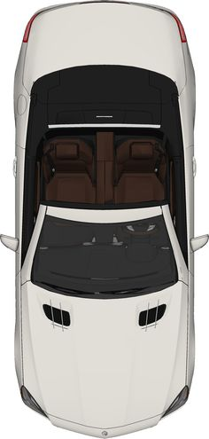 free top view PNG car mercedez