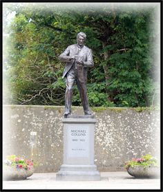 Michael Collins died during Ireland's Civil War at a place called Béal na mBláth - not far from Woodfield, Clonakilty, Co. Cork where he was born just over 31 year earlier.Clonakilty, is a small town in County Cork, Ireland, approximately 45 minutes away by road to the west of Cork City. The town is located at the head of the tidal Clonakilty Bay and is surrounded by hilly country devoted primarily to dairy farming