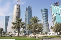 Architectural imagery of Doha, Qatar   If you are creating a bucket list of architecturally profound cities to visit, Doha is one municipali...