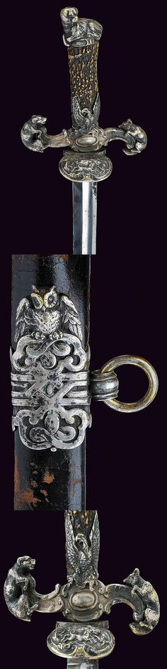 A hunting sword   dating: 19th Century   provenance: Germany