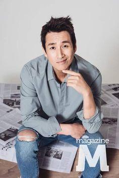Name Lee Sun-Kyun Hangul: Birthdate: March 1975 Birthplace: South Korea Height: Asian Men, Asian Guys, Lee Sun Kyun, Korean Tv Series, Choi Jin, Korean Face, Male Beauty, Korean Actors, South Korea