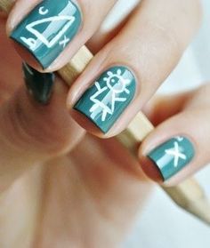 Green & White + Square
