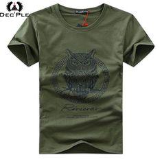 590c63fa7333 Dec'ple 5XL Men O neck T shirt 2017 Summer fashion Printed pattern mens  slim t shirt Plus size casual cotton t shirt men for boy-in T-Shirts from  Men's ...