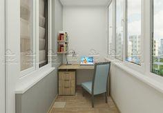 """Балкон-офис. Проект """"Туманный альбион. Мужская территория"""""""