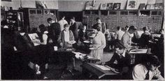 Art Class at Cass Tech High School - pic from 1933 yearbook #Detroit #DetroitHistory