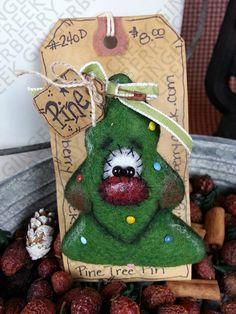 Navidad naturaleza Pins/Ornies patrón 143 por GingerberryCreek