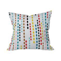 Beaded Bliss Outdoor Throw Pillow