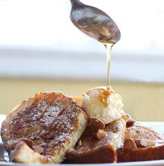 Amaretto French Toast    ~Food photos from Cafe Bernardo in Sacramento, CA~