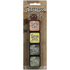 Tim Holtz Distress Ink Pad MINI KIT #10 TDPK40408