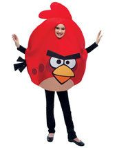 Girl Costumes for Halloween Kids : UHC Angry Birds Outfit Funny Theme Party Fancy Dress Child Halloween Costume Child OS