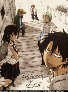 steve,fuji,takamiya,akahoshi and makina before joining kenji group
