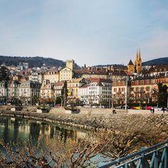 Neuchâtel Paris Skyline, Europe, Travel, Cities, Rural Area, Viajes, Trips, Traveling, Tourism