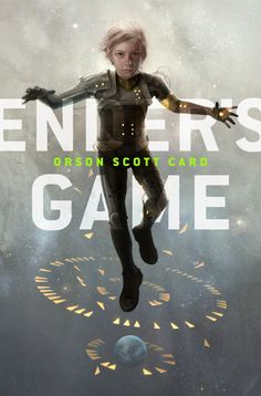 Ender's Game by Orson Scott Card (Cover illustration by Sam Weber for the eBook version.)