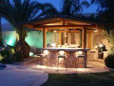 Barneys patio bar stools clearance set outdoor sets for outside bars Outdoor Patio Bar, Patio Bar Stools, Backyard Bar, Outdoor Kitchen Design, Diy Patio, Outdoor Decor, Outdoor Bars, Outdoor Living, Outdoor Kitchens