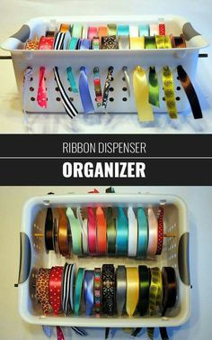 Ribbon storage at its best