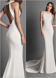 Featured Wedding Dress: Alma Novia; www.almanovia.com; Wedding dress idea.