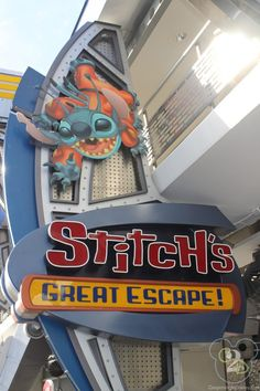Everything you need to know about Stitch's Great Escape at Walt Disney World. Pin now for your next trip!