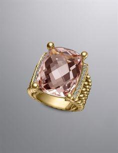 so gorgeous. david yurman wheaton ring.